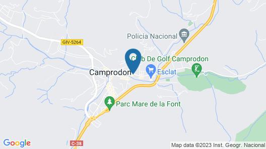 Hotel Cims Camprodon Map