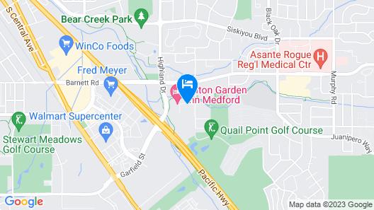 Homewood Suites Medford Map
