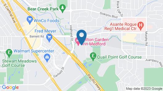 Hilton Garden Inn Medford, OR Map