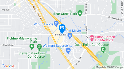 Royal Crest Motel Map