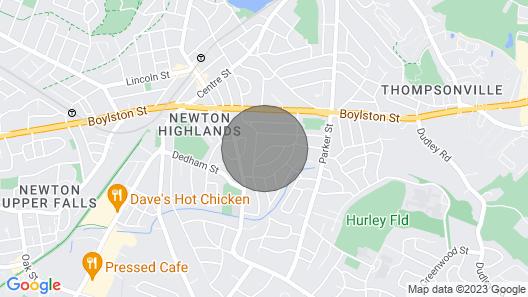 Perfect Getaway in Historic Newtonhighland Map