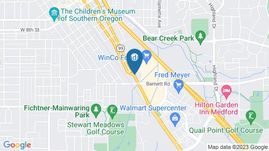 Econo Lodge Inn & Suites Central Map