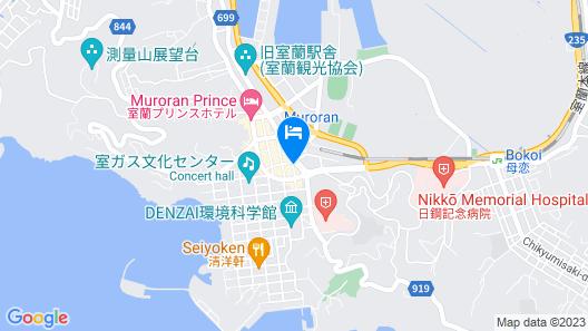 OYO Hotel Bayside Muroran Map