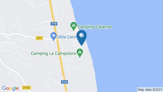 Hotel Orizonte Map