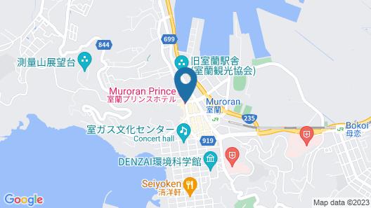 Muroran Prince Hotel Map