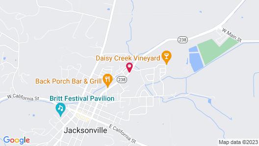 Wine Country Inn Map