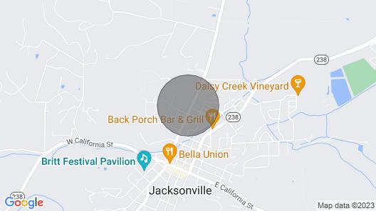 Jacksonville's Historic Nunan House Map