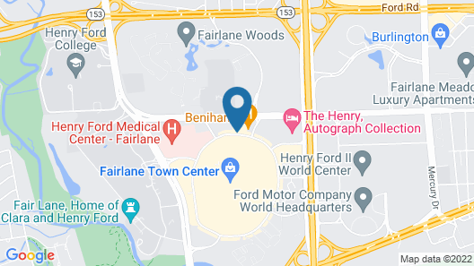 Extended Stay America Suites Detroit Dearborn Map