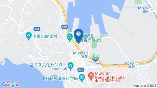 PRINCE HOTEL Second View MURORAN Map
