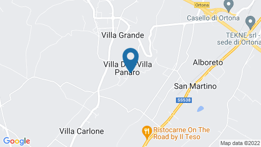 La Casa del Palombaro Map
