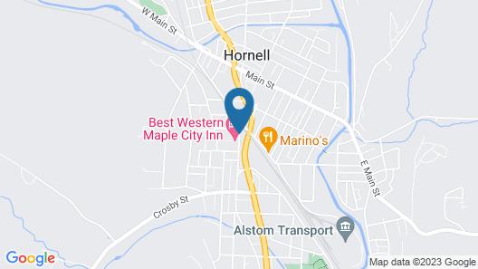 Best Western Maple City Inn Map