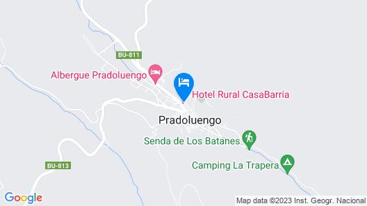 Hotel Rural Casabarría Map