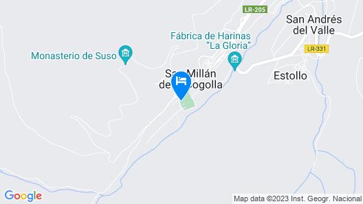 Hostal Rural La Calera Map