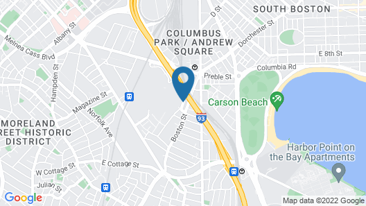 Holiday Inn Express Boston Map