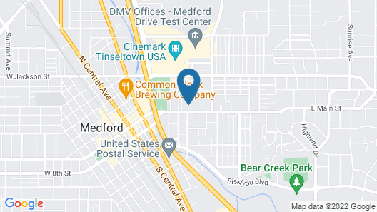 Lady Geneva Bed and Breakfast Map