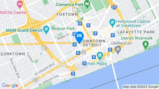 Hotel Indigo Detroit Downtown, an IHG Hotel Map