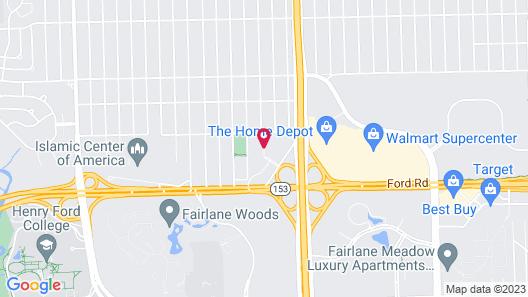 Hawthorn Suites By Wyndham Dearborn/Detroit, MI Map