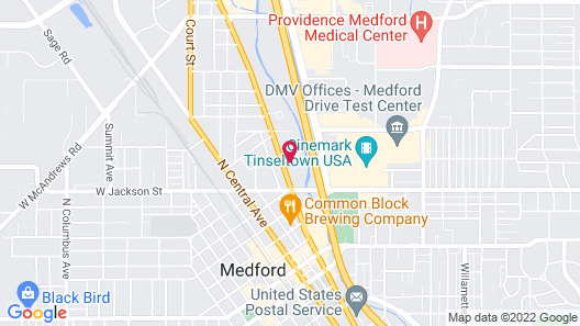 OYO Hotel Medford North OR Map