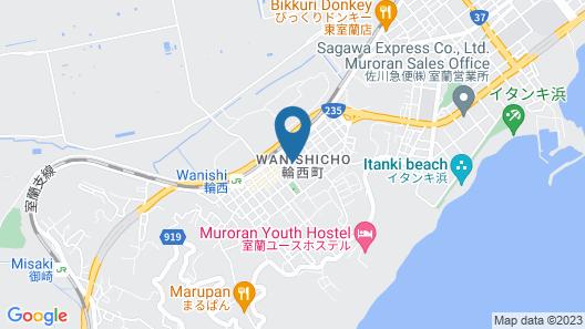 Hotel Muroran Hills Map