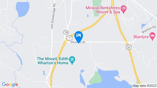 Seven Hills Inn Map