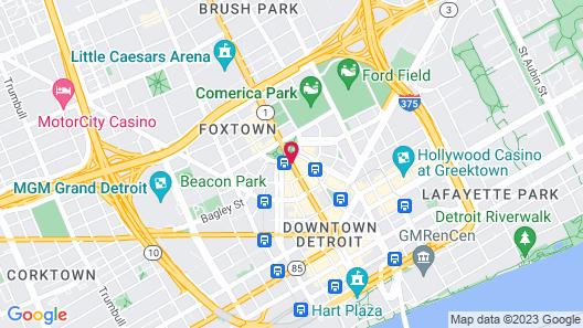 Aloft Detroit at The David Whitney Map