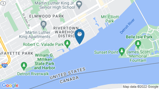 Roberts Riverwalk Urban Resort Hotel Map