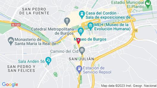 Hotel Bulevar Map