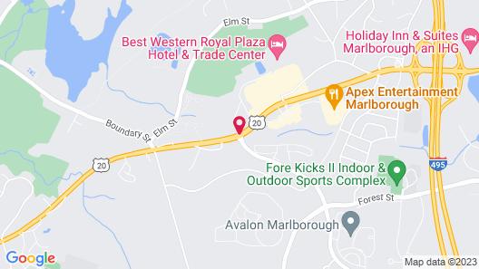 Hampton Inn Boston/Marlborough Map