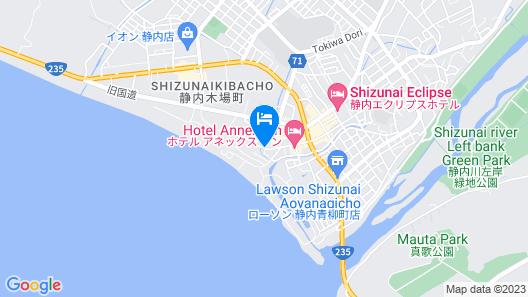 Hotel Sato Map