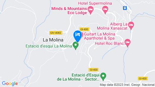 Hg La Molina Map
