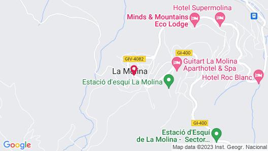 Hotel Solineu Map