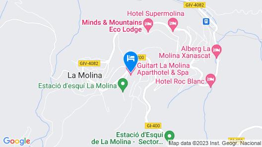 Hotel Guitart la Molina Aparthotel & Spa Map