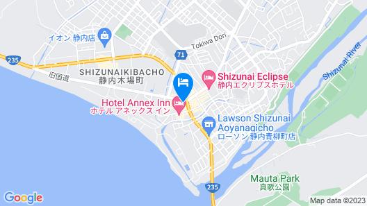 Hotel Lourel Map