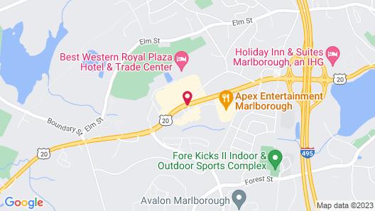 Fairfield Inn & Suites Boston Marlborough/Apex Center Map