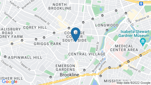 Coolidge Corner Guest House Map