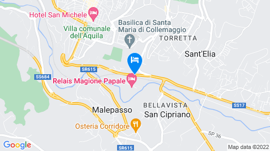 Relais Magione Papale Map