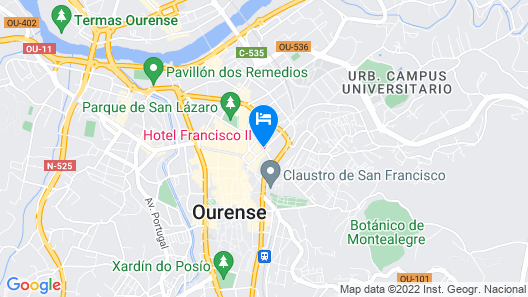 Hotel Francisco II Map
