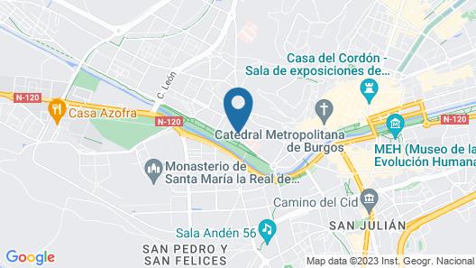 Apartamentos María Luisa Map