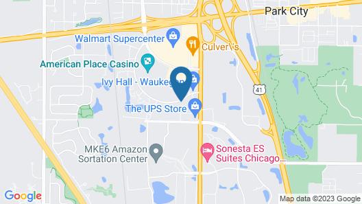 Holiday Inn Express & Suites Waukegan, an IHG Hotel Map