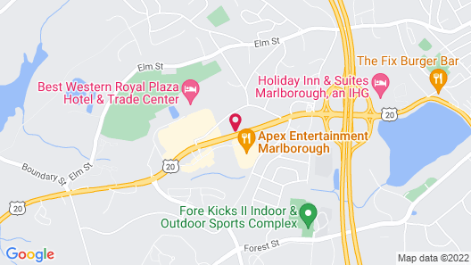 Best Western Royal Plaza Hotel & Trade Center Map