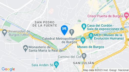 Apartamentos El Cid Map