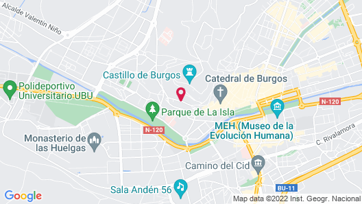 Abba Burgos Hotel 4*Superior Map