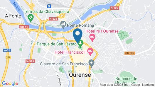 Barcelo Ourense Map