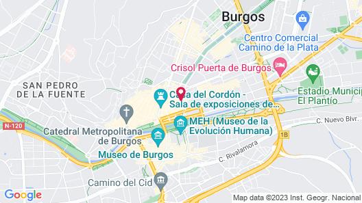 Hotel Cuéntame La Puebla Map