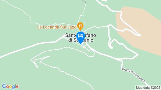 B&B La Dote Map