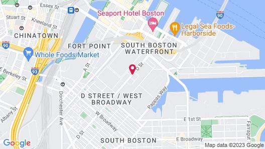 Aloft Boston Seaport District, a Marriott Hotel Map