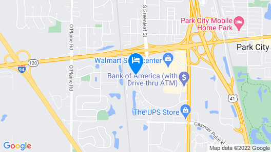 Hampton Inn & Suites Chicago Waukegan Map