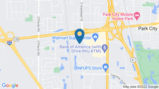 SpringHill Suites by Marriott Chicago Waukegan/Gurnee Map