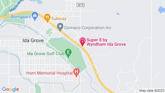 Super 8 by Wyndham Ida Grove Map