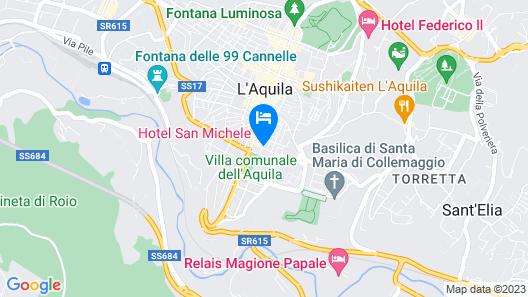 Hotel San Michele Map